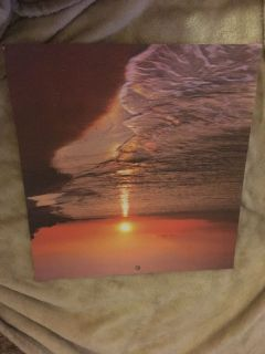 NEW 12 x12 Beach Sunset Scrapbook Paper (2 available)