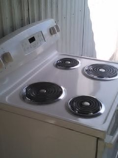 Brand new GE electric stove
