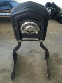 $175 HD Back Rest for soft tail