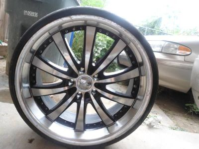 Rims 20 Inch ALL 4 Rims and tires