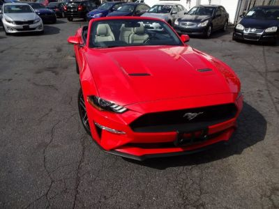 2018 Ford Mustang EcoBoost Premium Convertible (Race Red)