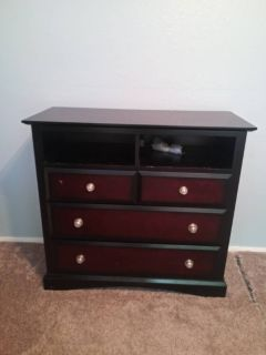 Dresser with media console combo