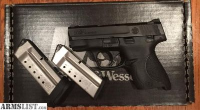 For Sale: M&P Shield .40 w/thumb safety $350