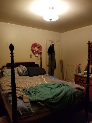 4 post queen size bed