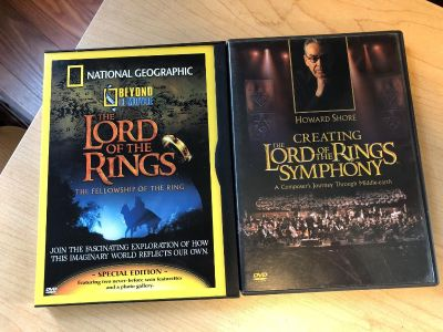 Lord of the rings supplemental discs