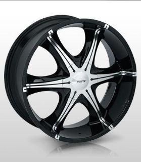 """Buy 24x9.5 Forte F3 """"Signs"""" (Black Mirror) Wheel/Rim(s) 6x135 6-135 24-9.5 motorcycle in Cincinnati, Ohio, US, for US $350.00"""