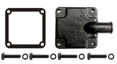 Purchase Exhaust Manifold End Cap Plate Mercruiser Repl 60252A2 Hose Fitting & Gasket Kit motorcycle in Worcester, Massachusetts, United States, for US $49.99