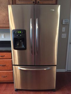 Maytag French door stainless steel refrigerator