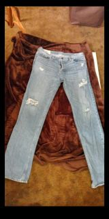 Mens new American eagle 3234 distressed classic straight jeans