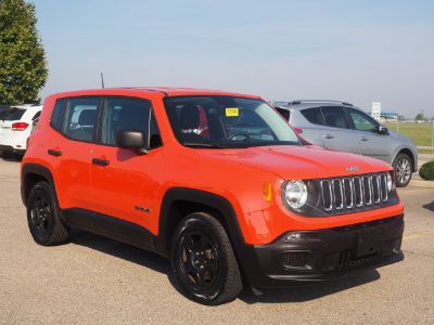 2015 Jeep Renegade Sport (Omaha Orange)