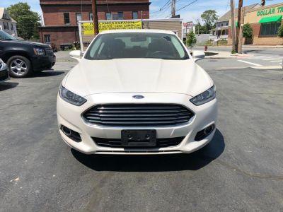 2013 Ford Fusion Titanium (White Platinum Metallic Tri-Coat)