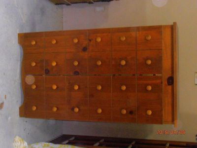 Wood Shoe Chest