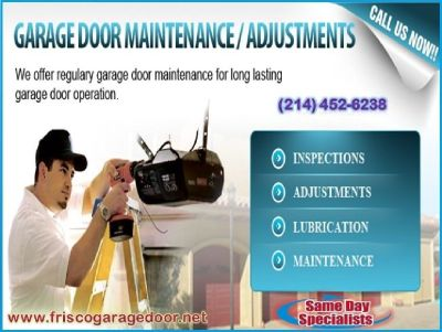 Call (214) 452-6238 for New Garage Door Installation | Frisco 75034 TX