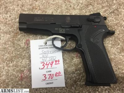 For Sale: SMITH & WESSON 410 40 S&W 11RD MAG