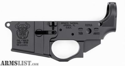 "For Sale: SPIKE'S TACTICAL AR15 ""VIKING"" MULTI CAL LOWER RECEIVER"
