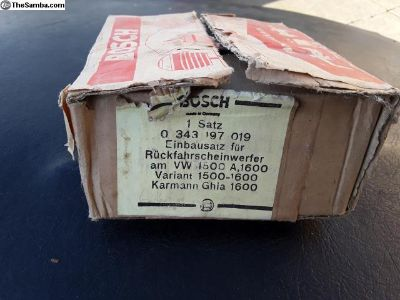 Type 3 ghia backup light bosch kit nos squareback