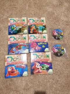 6 Childrens Books with CD DVD