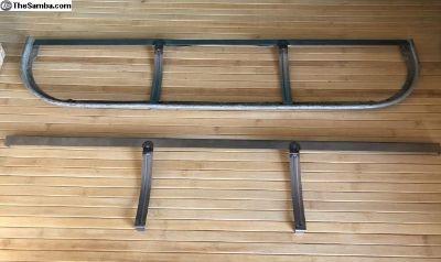 Bus Bulkhead Panel Upper Drink Tray Frame Support