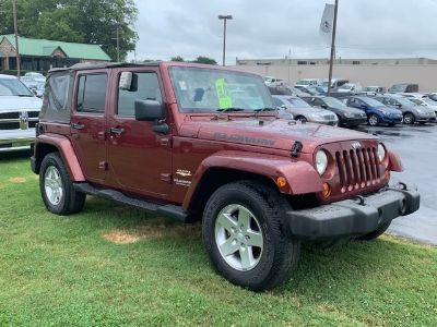 2007 Jeep Wrangler Unlimited Sahara (Red Rock Crystal Pearlcoat/Black Soft To)