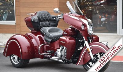 2018 Indian Motorcycle Roadmaster California Side Car Trike in Burgundy Metall