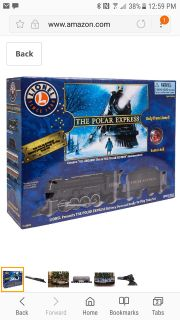 Polar Express train set