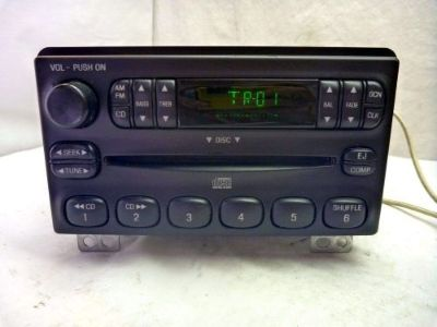 Purchase 2001-2004 Ford Mustang Explorer OEM Radio Single Disc Cd 4L2T-18C815-EA SF416654 motorcycle in Williamson, Georgia, United States, for US $130.00