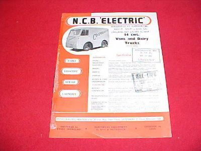 Find 1954-55 NCB ELECTRIC HD DAIRY GROCERY BREAD LAUNDRY 14 CWT TRUCK BROCHURE 54 55 motorcycle in Leo, Indiana, US, for US $5.99