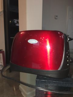 Oster Red toaster