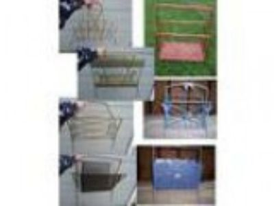 Vintage Retro MAGAZINE RACKS painting project (Davison)