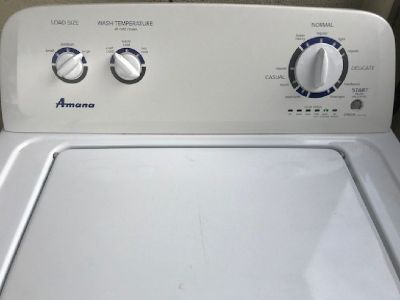 AMANA WASHER & DRYER
