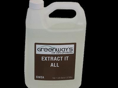 Sell Greenways Car Care Extractor Solution 5 Gallons.New Lower shipping. CONCENTRATED motorcycle in Effort, Pennsylvania, US, for US $69.99