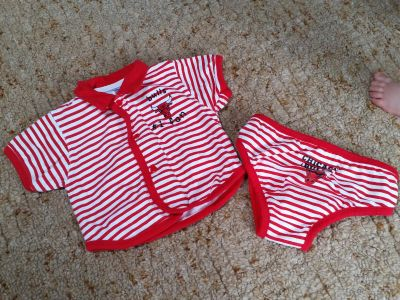 New! 3-6 mo shirt and diaper cover