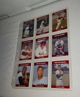 1985 TCMA Vintage Trading cards. Very rare. All for $7