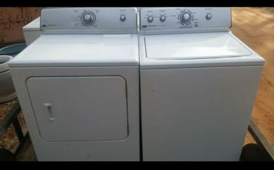 Matching maytag centennial washer and dryer set