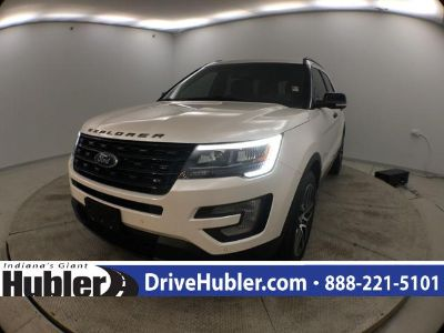 2016 Ford Explorer Sport (White Platinum Metallic Tri-Coat)