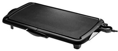 Presto Jumbo Cool Touch Electric Griddle, Black