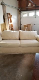 Couch with Pullout Queen Bed