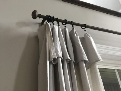 2 Target Curtain Rods