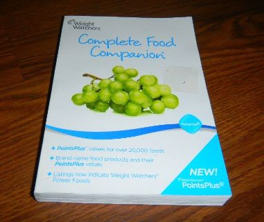 Weight Watchers Complete Food Companion Guide Book