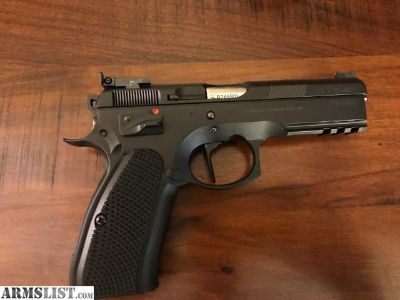 For Sale: CZ SP01 Shadow Target with Cajun Gunworks Pro package