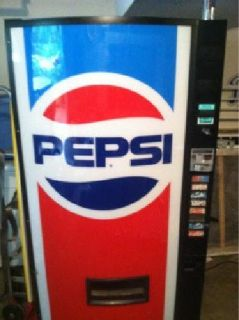 $400 Pepsi Pop Machine