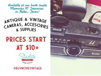 Antique & Vintage Cameras, Accessories and Photogr