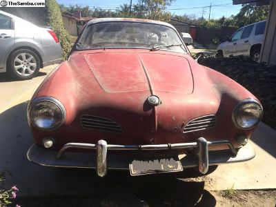 1960 Karmann Ghia Coupe FOR SALE