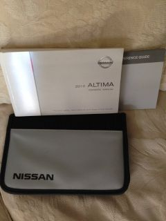 2010 Nissan Altima Owners Manual
