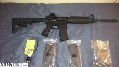 For Sale: AR 15 with mags and ammo