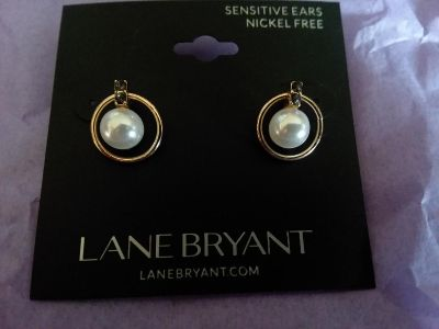 Lane Bryant earrings new with tags