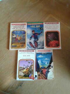 Choose your own adventure books lot