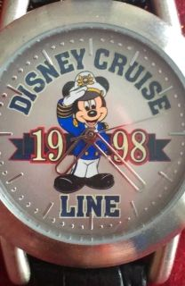 BRAND NEW! Disney Cruise Line, Captain Mickey Limited Release Watch 1998, NIP