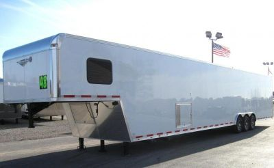 2019 48' Gooseneck Trailer with LARGE BATHROOM