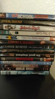 Movies!! Selling for .75cents each!